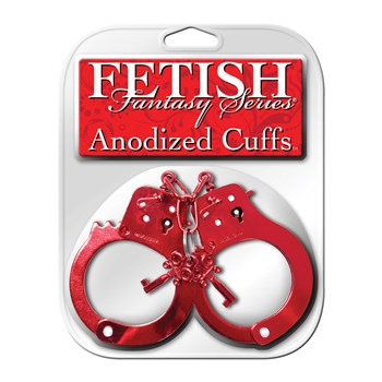 Fetish Fantasy Handcuffs red packaging