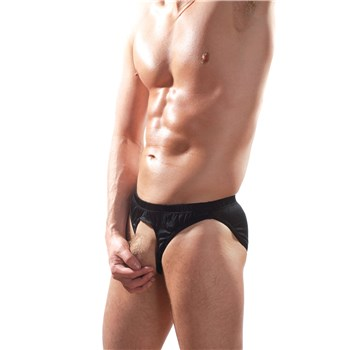 The Pouchless Brief black