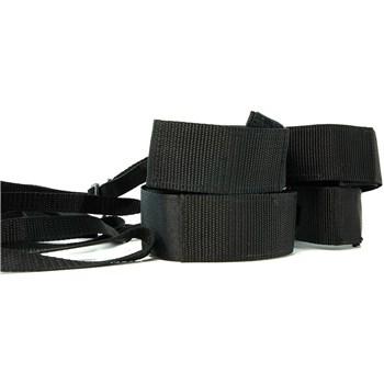 Bodywand Midnight Bed Spreader Kit cuffs