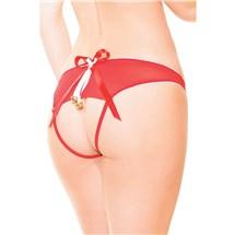 Crotchless Treat Panty back of panty
