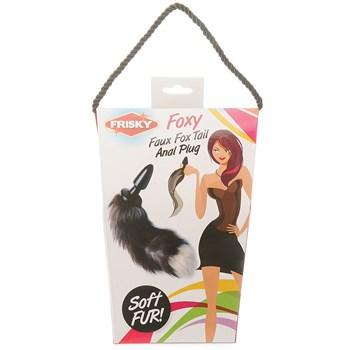 Frisky Fox Tail Anal Plug packaging
