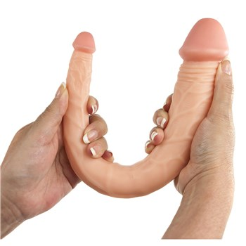 Maxx Men 15 Inch Curved Double Dong hand holding for scale