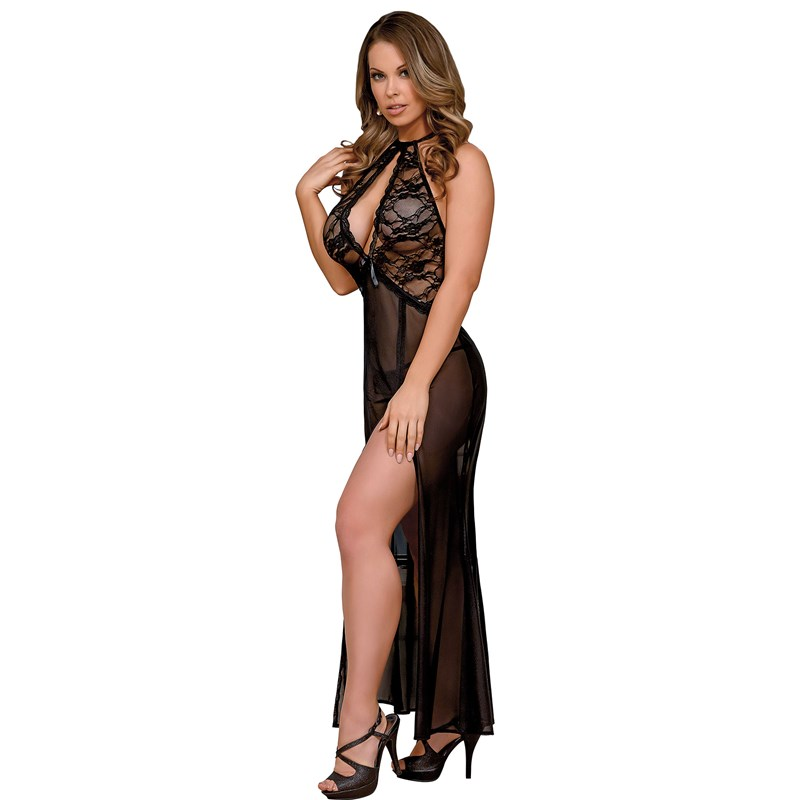 Black Widow Gown