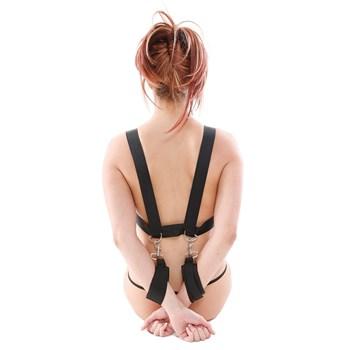 Heavy Duty Position Master model wearing showing back straps