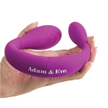 Adam & Eve The JoyStick Rechargeable Wand showing flexibility