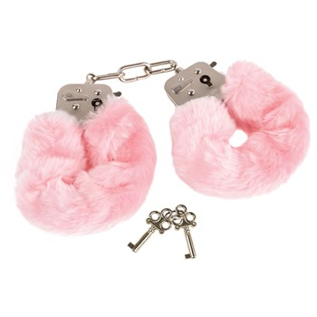Plush Love Cuffs pink