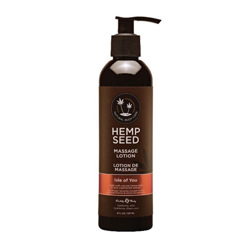 Hemp Seed Massage Lotion- Isle of You
