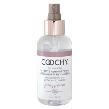 Coochy Intimate Feminine Spray FRONT OF BOTTLE