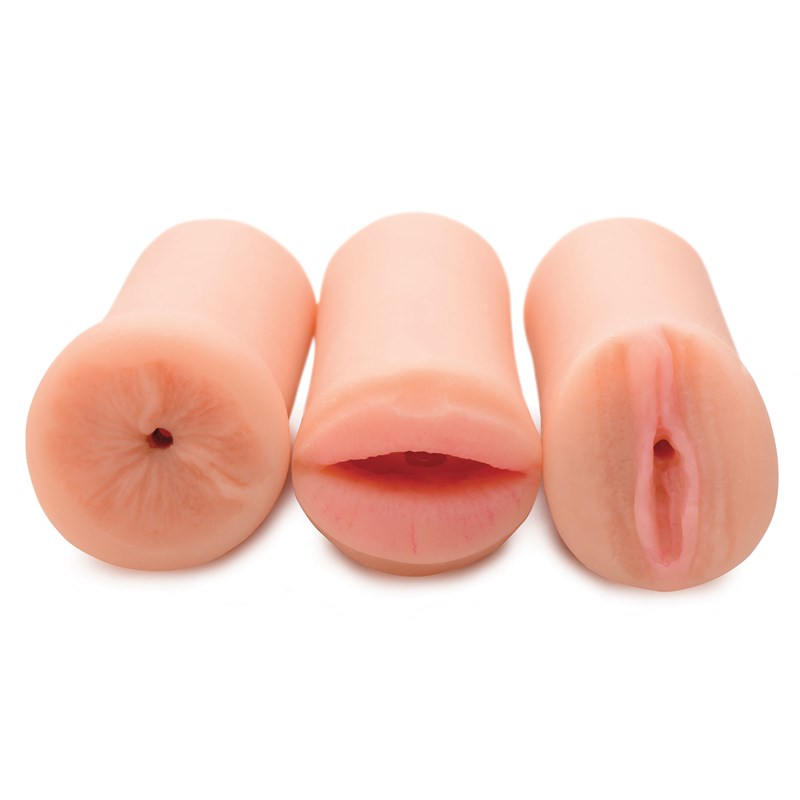 Jesse Jane Three-Way Stroker Set