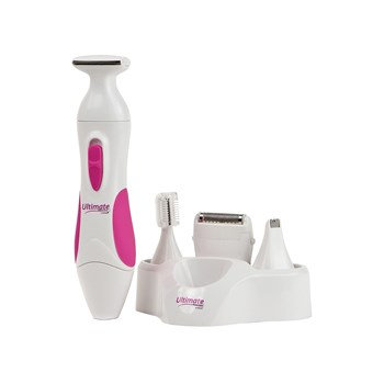 All In One Ultimate Personal Shaver For Women all pieces of kit