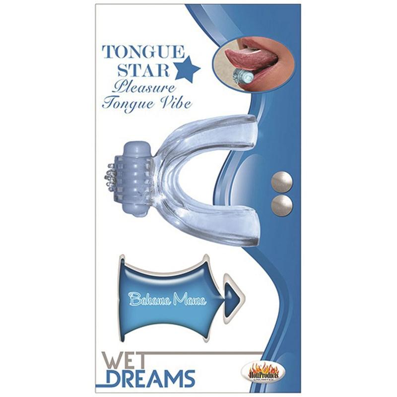 Tongue Star Pleasure Vibe
