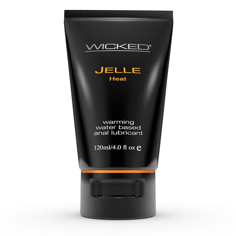 Wicked Anal Jelle Heat Lubricant