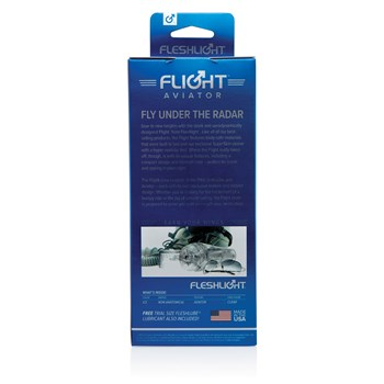 Fleshlight Flight Aviator back of box