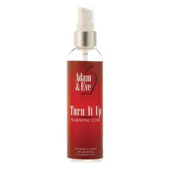 Adam & Eve Turn It Up Warming Lubricant bottle