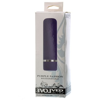 Purple Passion Rechargeable Bullet in box