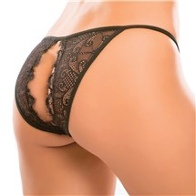 Enchanted Belle Crotchless Panties back