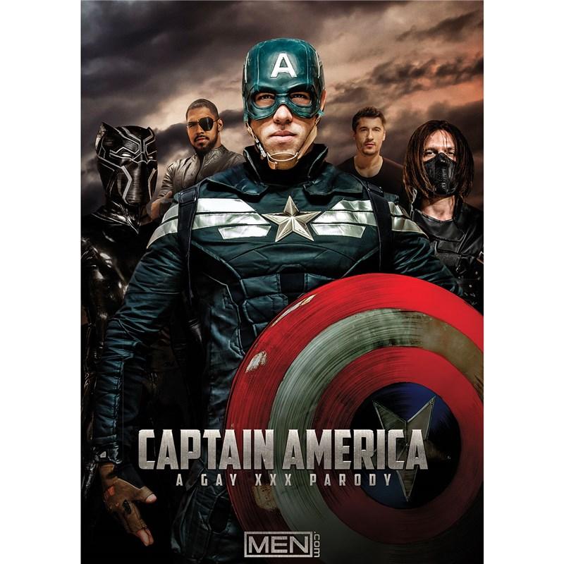 Captain America A Gay XXX Parody