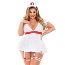 Bedside Nurse Costume front