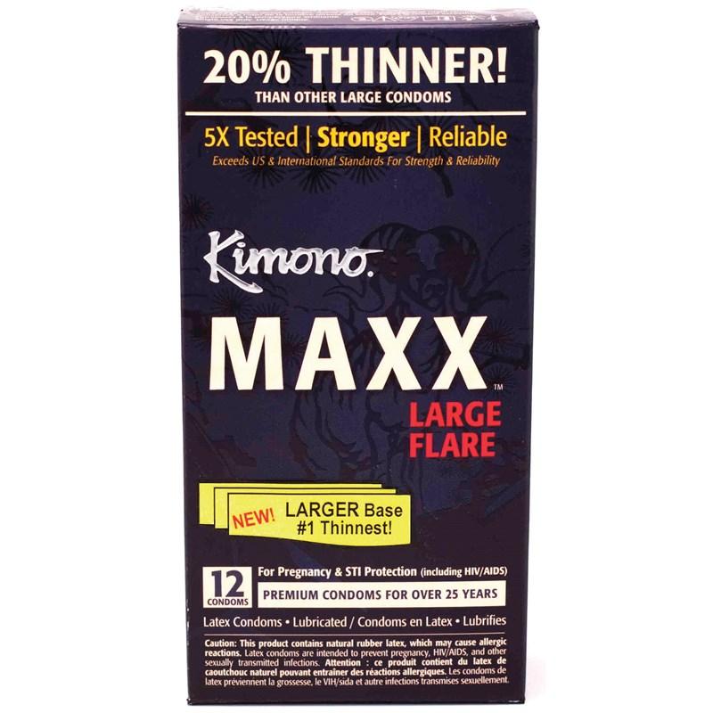 Kimono Maxx Large Flare Condoms