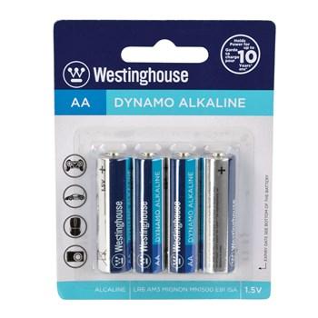 AA Batteries (4 pack) package