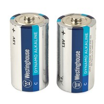 Westinghouse C Cell Batteries (2 pack) single