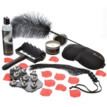 Forever Tantra Sensual Massage Kit all components