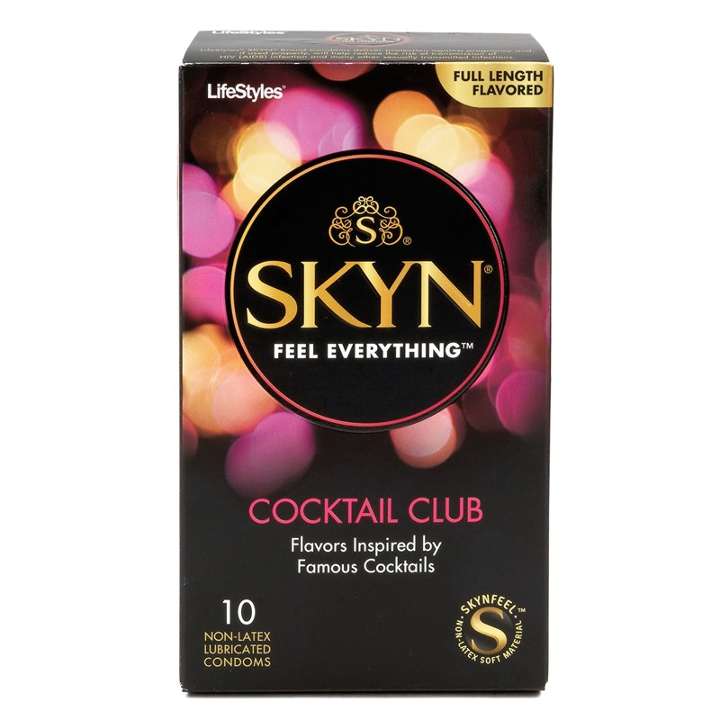 Lifestyles Skin Cocktail Club Flavored Condoms