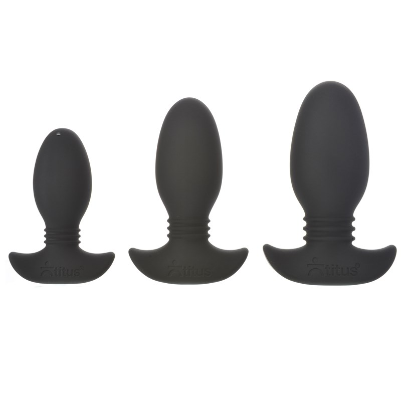 Titus Silicone Anal Trainer Kit