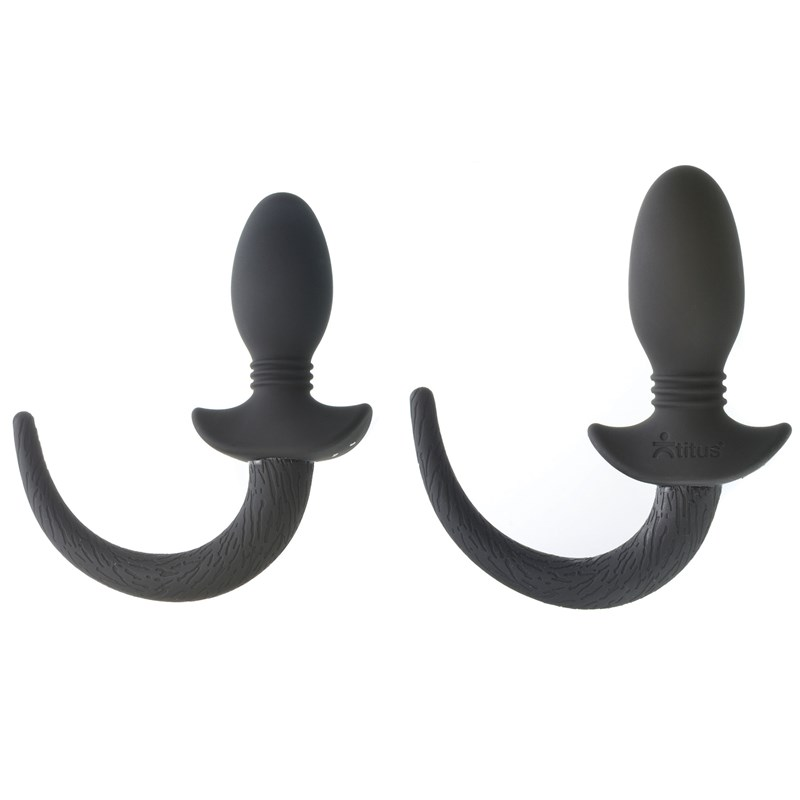Titus Silicone Vibrating Pup Tail
