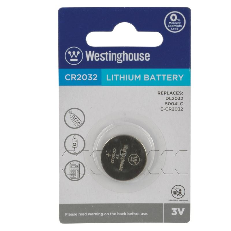 Battery,3Volt,Westinghouse,Pk1