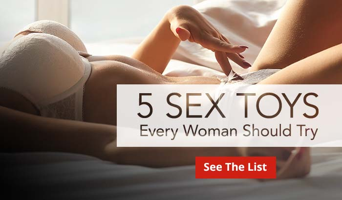 Shop 5 Sex Toys Women Should Try!