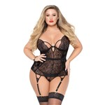 Simply Gorgeous Lace Bustier queen