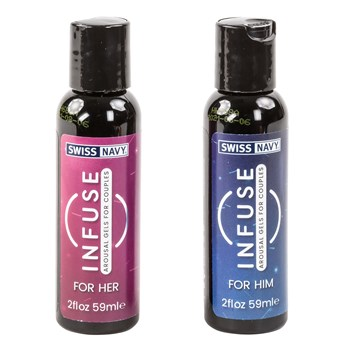 Infuse Arousal Gels For Couple bottles