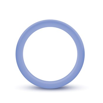 Performance Silicone Glo Cock Ring purple