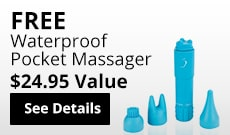 Free Waterproof Massager! Find Out More!