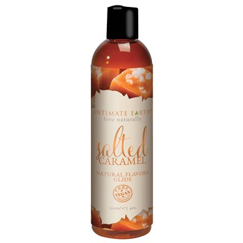 Intimate Earth Natural Flavor Glide salted carmel