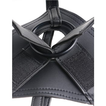 Kingcock Strap-On Harness With 8-Inch Dildo close up