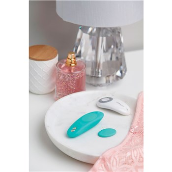 We-Vibe Moxie Panty Vibrator side of bed