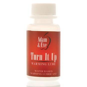 Adam & Eve Turn It Up Warming Lubricant 1 oz