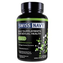 Swiss Navy Hard - 30 Count front