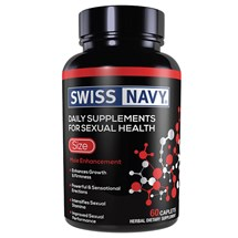 Swiss Navy Size - 60 Count front