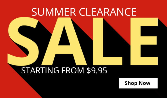 Shop Summer Clearance Sale!