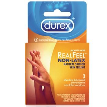 Durex Avanti Bare Realfeel Non-Latex Condom package