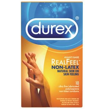 Durex Avanti Bare Realfeel Non-Latex Condom box