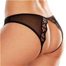 Mirabelle Plum Peek A Boo Panty back