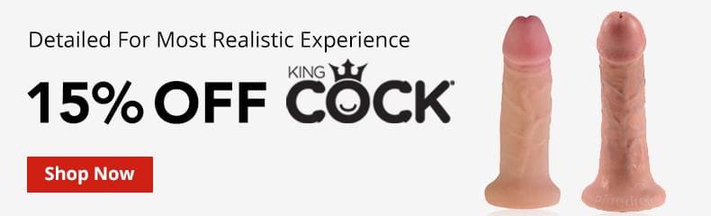 15% Off Kingcock Dildos!