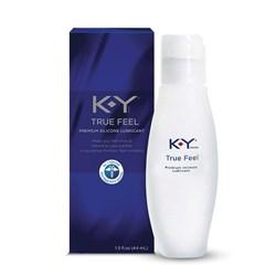 K-Y True Feel Premium Silicone Lubricant bottle