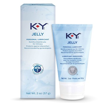 K-Y Jelly Personal Lubricant box and bottle