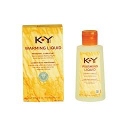 K-Y Warming Liquid front