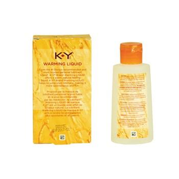 K-Y Warming Liquid back